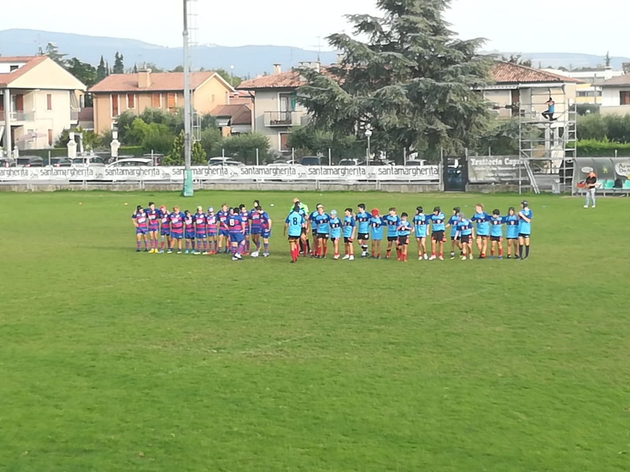 Prima sfida per l'under 14 Valpo West Lupos